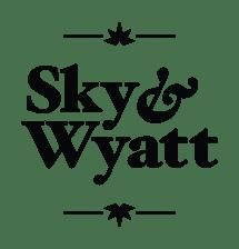 Sky _ Wyatt Logo Black